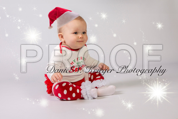 baby's first holiday photos